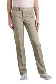 2be62e01a32 Girls  Slim Fit Straight Leg Stretch Twill Pant