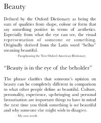 Oxford Definition Of Beauty Latin Word Opinion Essay On