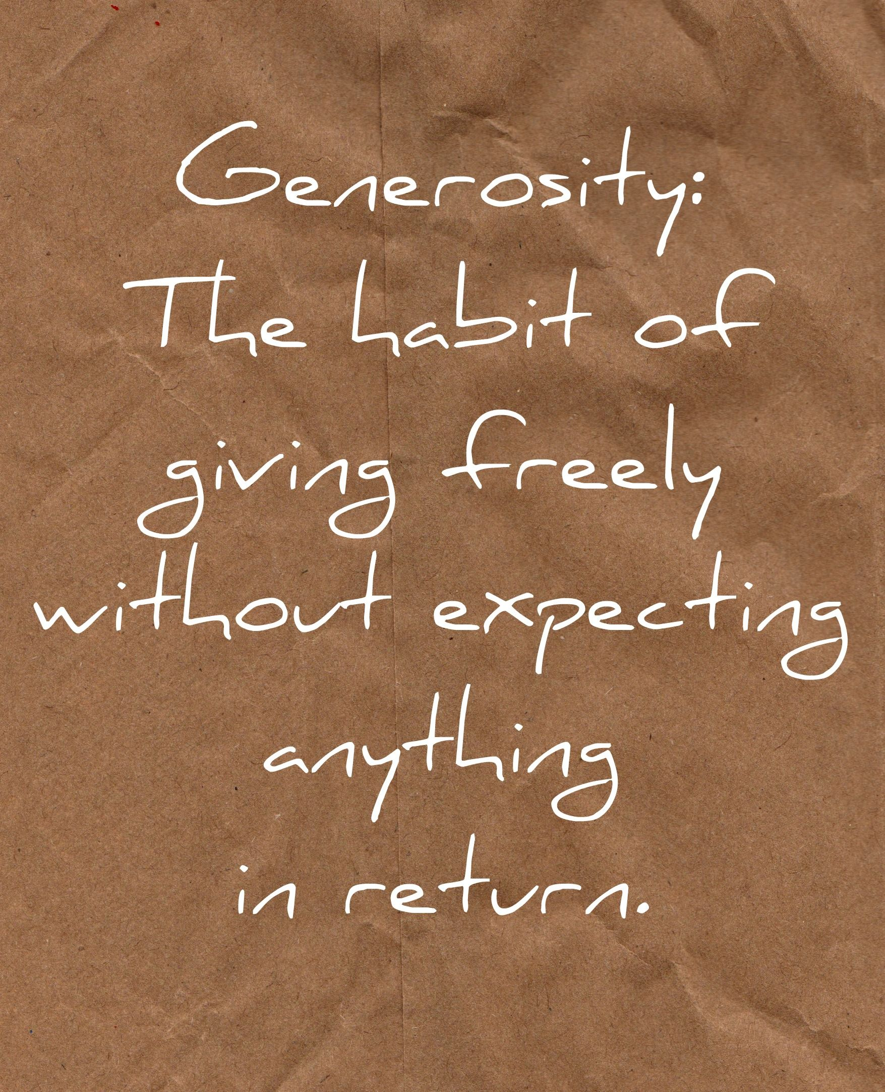 Generosity Quotes Who Doesn't Love Getting A Gift  Wisdom Inspirational And Thoughts