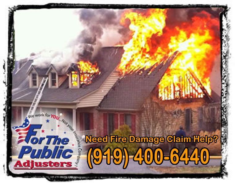 Fire claim help nc sc va fire damage fire public