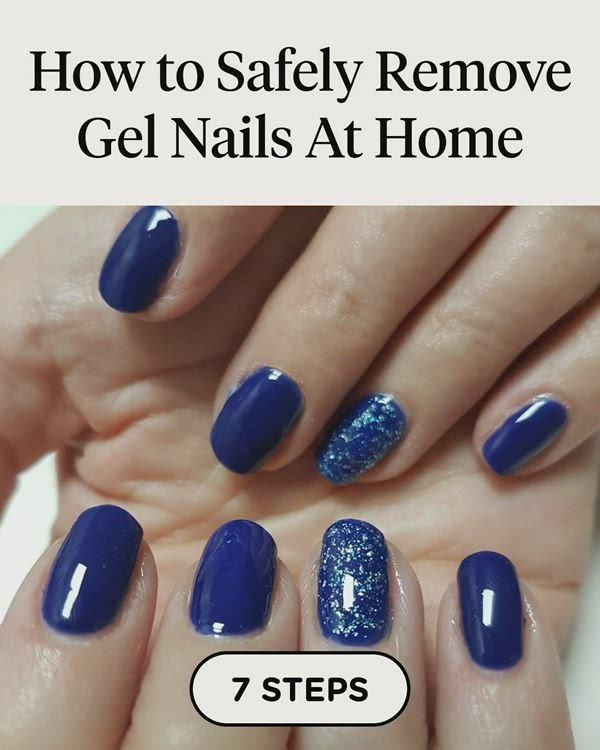 How to Safely Remove Gel Nails At Home