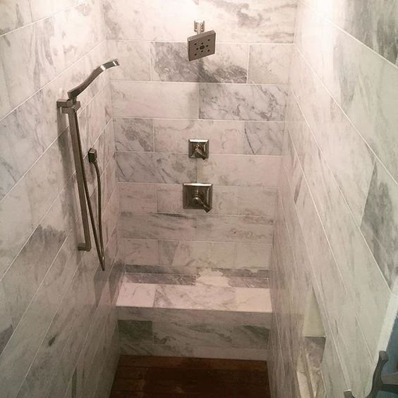 Tempesta Neve Polished Marble Floor Tile 8 X 20 In Your