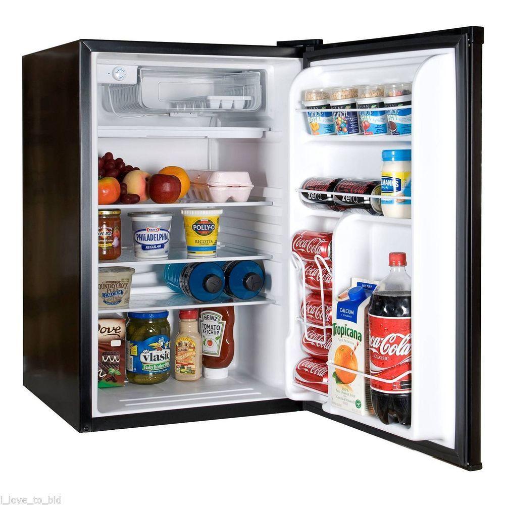 office mini refrigerator. Mini Refrigerator Freezer 4.5 Cu Ft Compact Fridge Dorm Cooler Office Beverage S