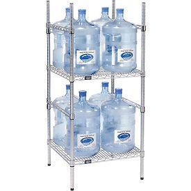 5 Gallon Water Bottle Storage Rack 8 Bottle Capacity Water