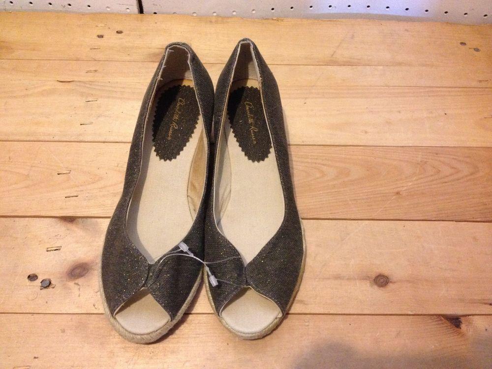 Charlotte Russe Chocolate Wedge Platform Open Toe Shoes Size 7 #CharlotteRusse #PlatformsWedges