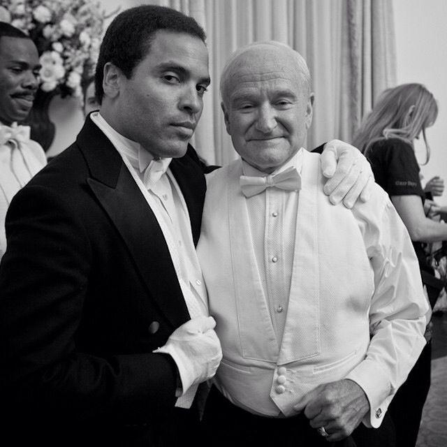 Lenny Kravitz & Robin Williams in ~Lee Daniels' The Butler <3