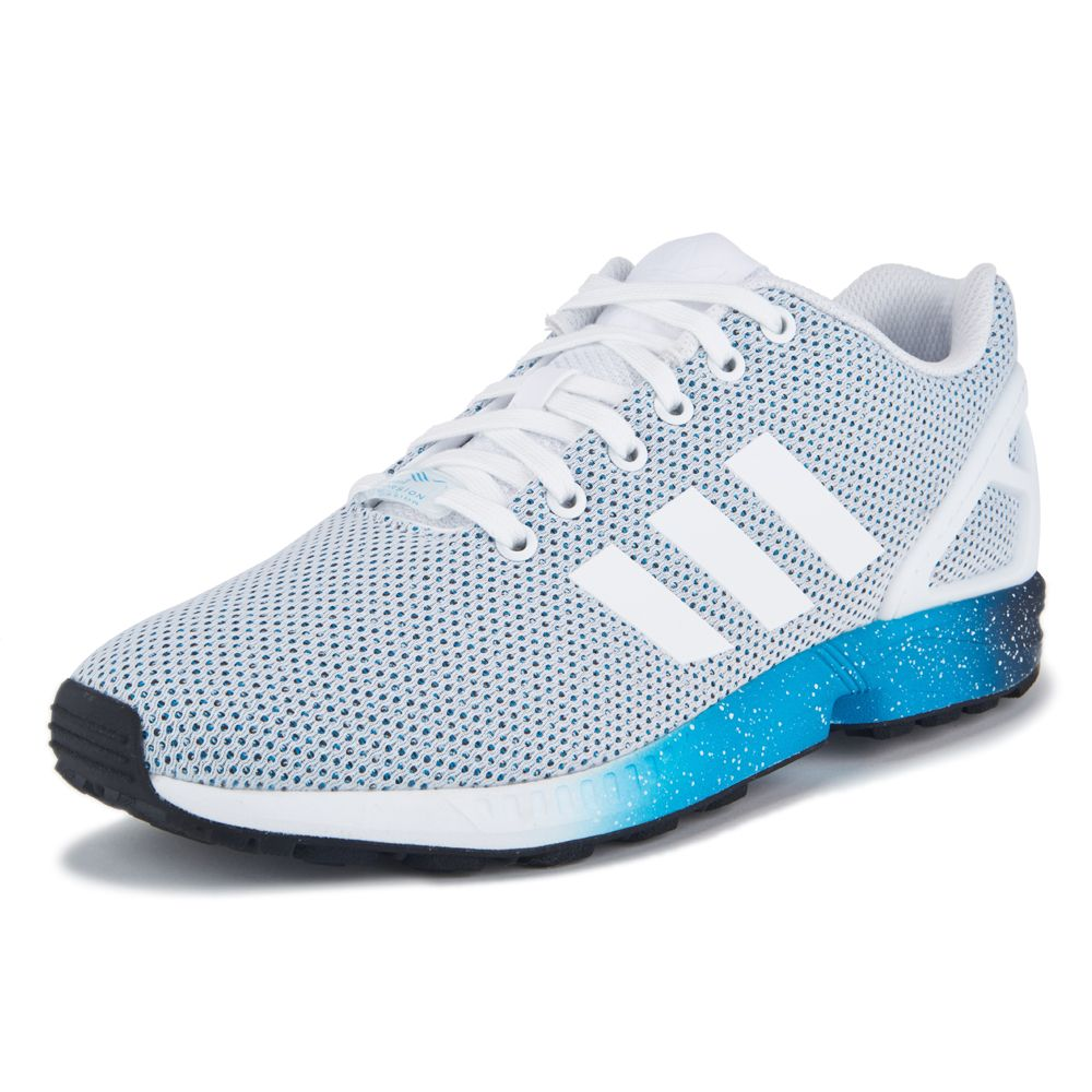Adidas Zx Flux Grey And Blue