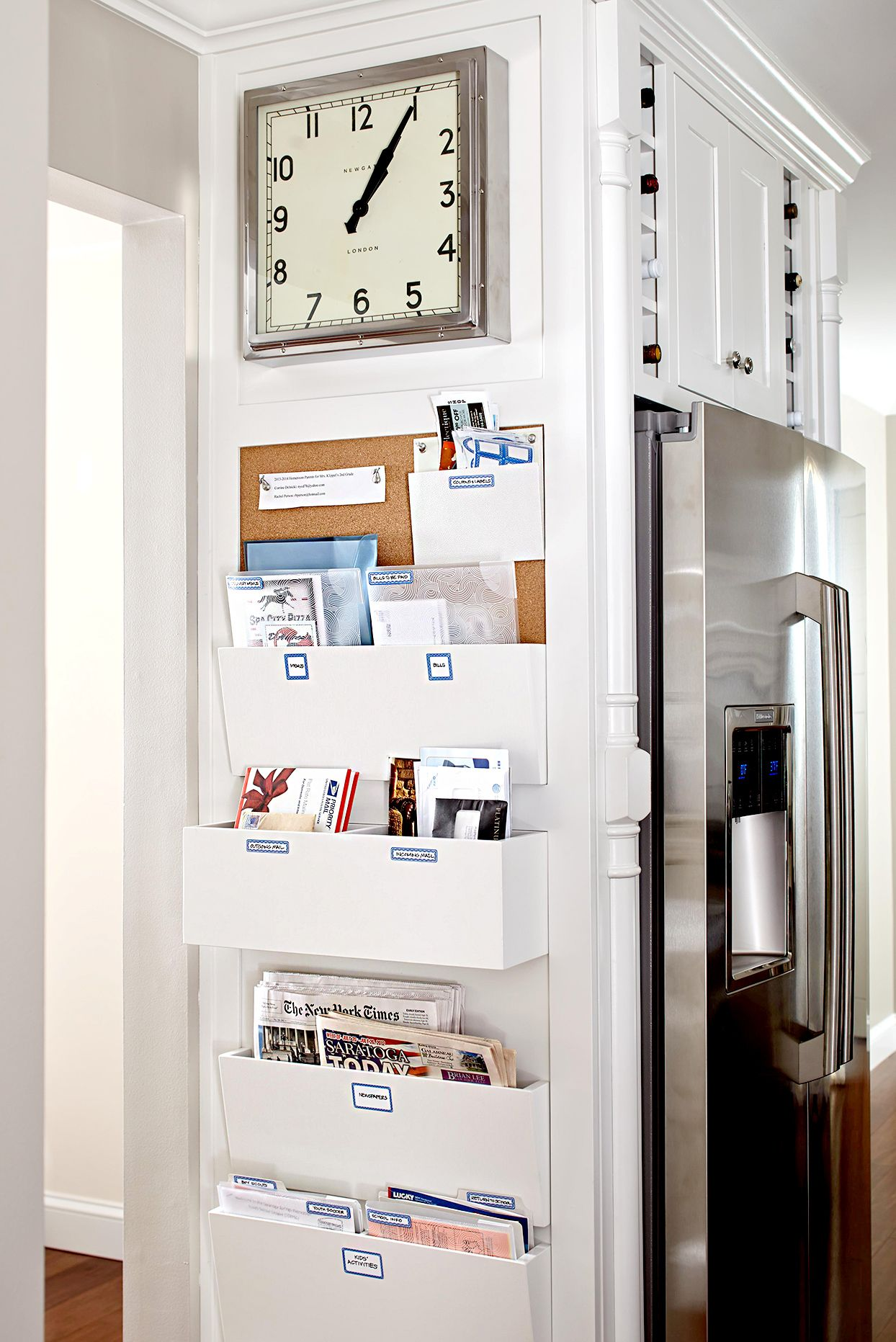 6 Creative Command Center Ideas To Organize Your Family In 2020 Home Command Center Easy Closet Organization Diy Storage Cabinets