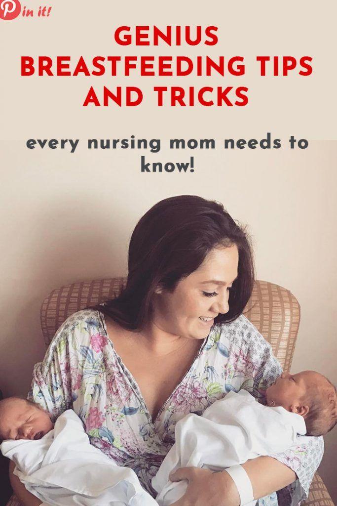 25 Brilliant Tips to Survive The First Months of Breastfeeding a Newborn #geniusmomtricks