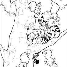 Tigger And The Squirrels