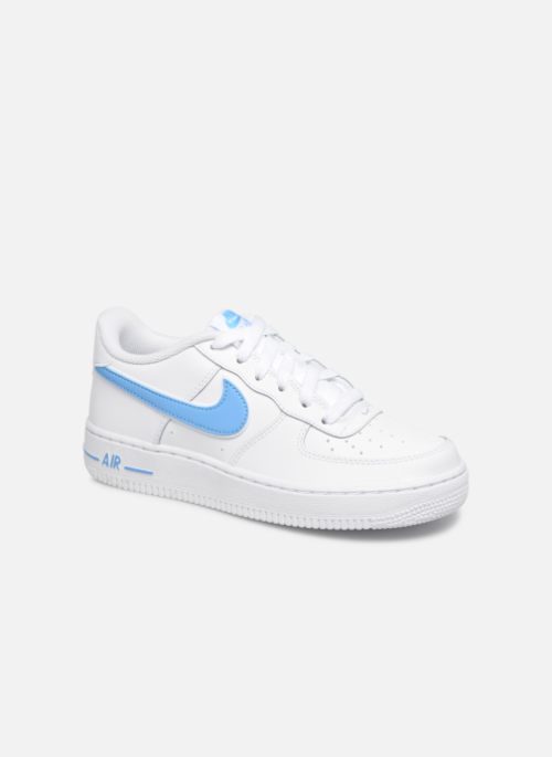 ff125e5d4772 Nike Air Force 1-3 (Gs) (Blanc) - Baskets chez Sarenza (352779)  sneakers   nike  airforceone  af1
