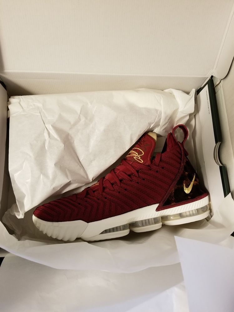61612001fc49 Nike LeBron XVI 16 King James Team Red Leopard SZ 11 Authentic #fashion  #clothing #shoes #accessories #mensshoes #athleticshoes (ebay link)