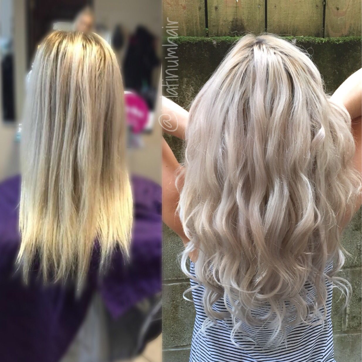 Before And After Dream Catchers Hair Extensions Love This