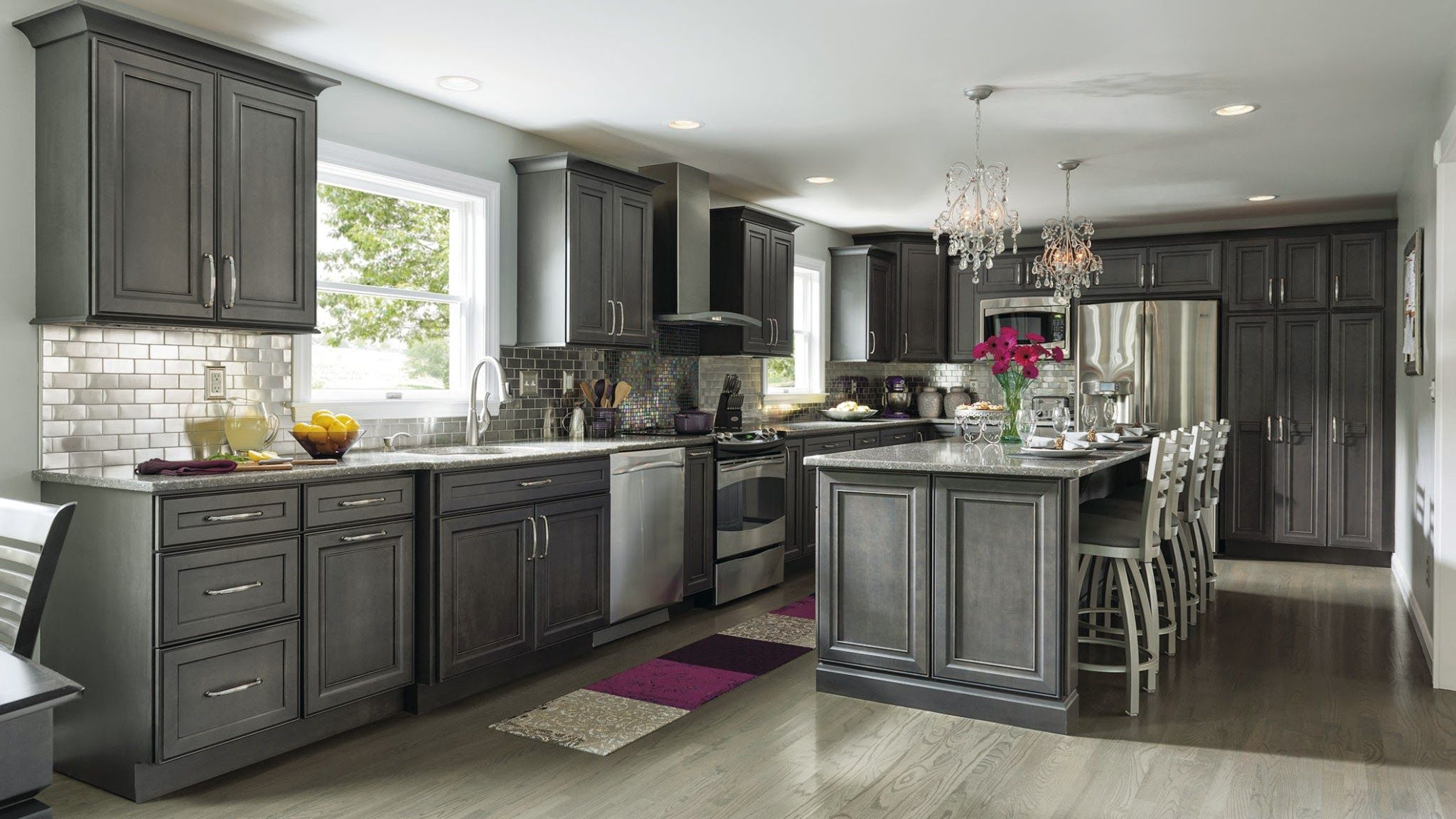 Best Decora Cabinetry Google Stained Kitchen Cabinets 400 x 300