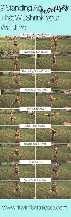9 standing ab exercises thatll shrink your waistline standing ab fit with britt nicole health fitness flooringfloor workoutsgreat tyukafo