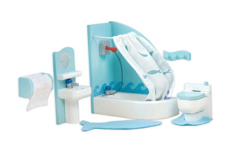 Photo On Le Toy Van Dolls Furniture Sugar Plum Bathroom