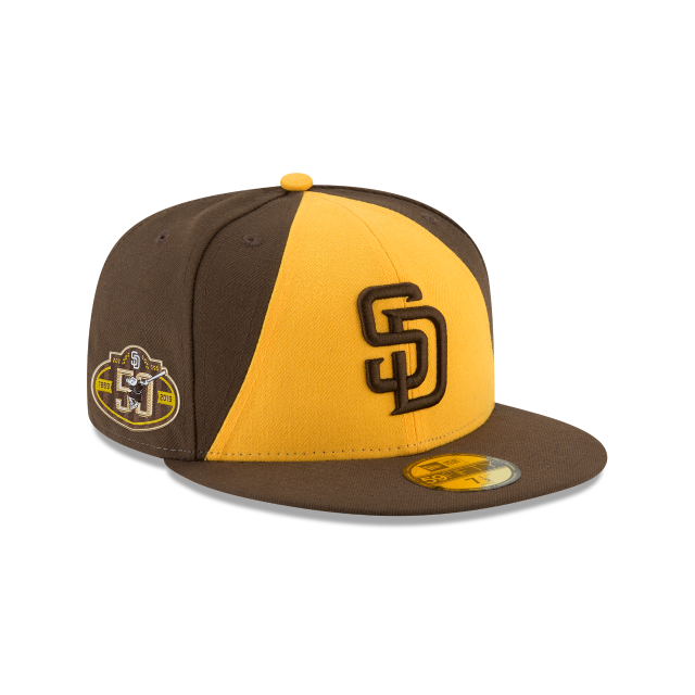 new concept 9c8e0 4b723 SAN DIEGO PADRES 50TH ANNIVERSARY ALT 2 AC 59FIFTY FITTED