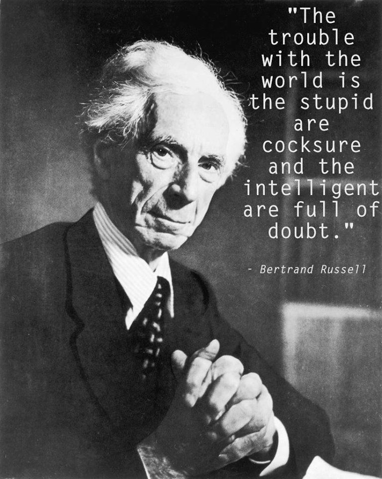 bertrand russell quote the true