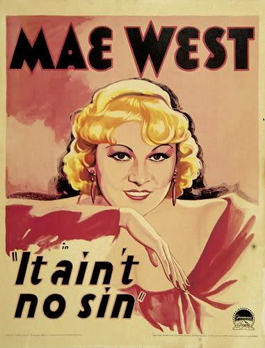 Poster of may west