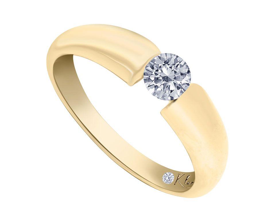 4d63ed7358aa Solitario Klamore Diamante .30 Oro Amarillo 14 k-Liverpool es parte de MI  vida