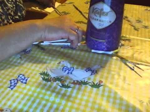 runder Tannenbaum aus Papier