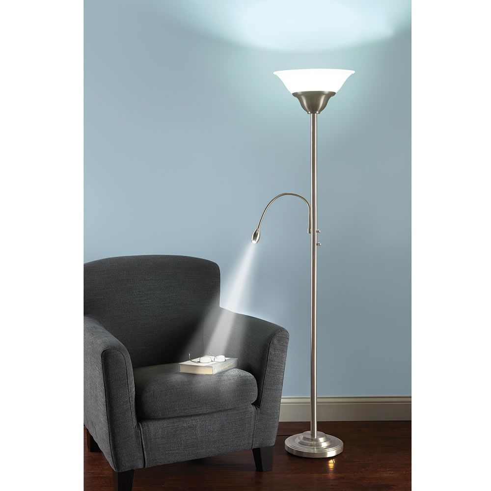 The Brightness Zooming Natural Light And Torchiere Lamp Natural Light Lamp Elegant Floor Lamps Cool Floor Lamps
