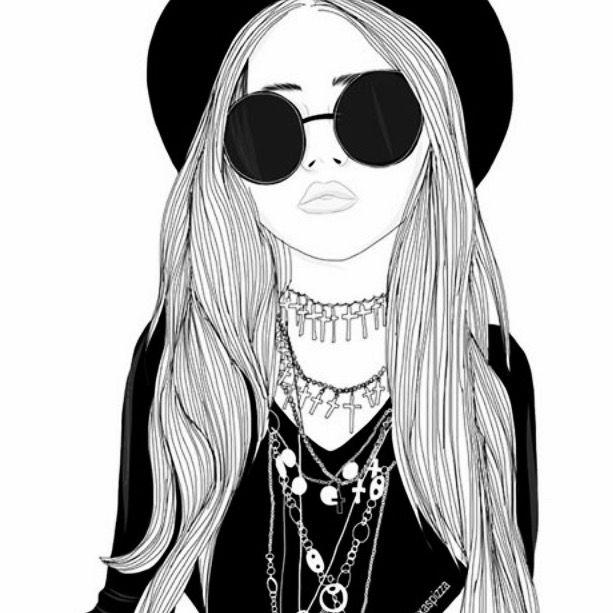 épinglé Par Jj Guad Sur Drawing Tumblr Girl Drawing