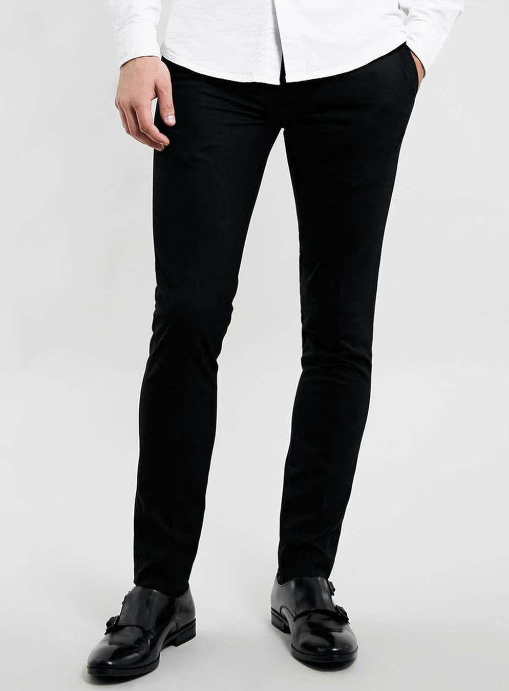 Black Ultra Skinny Fit Dress Pants | Skinny fit and Dress pants