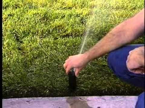 How To Adjust Sprinkler Head Arc Hunter Pgp Jb Irrigation