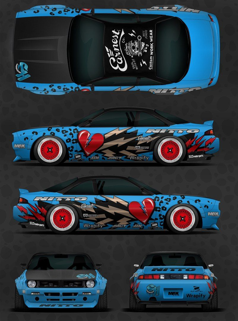 Speedhunters S14 Mobil Keren Mobil Modifikasi Stiker Mobil