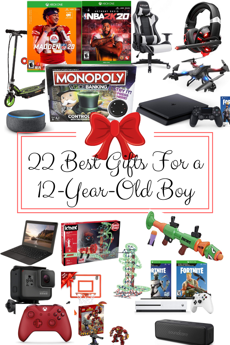 Gift Ideas For 12 Year Old Boy Gift Ideas For Middle School Boy Gift Guide Best Christmas Gifts Gift Ide Christmas Gifts For Boys 12 Year Old Boy Big Gifts