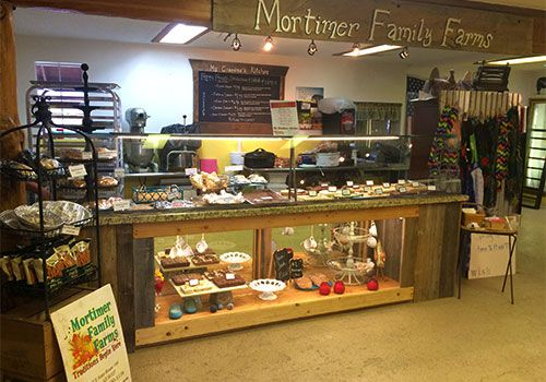Shop Locally at our farm fresh bakery where you can find fresh baked pies, fudges, breads, and more!