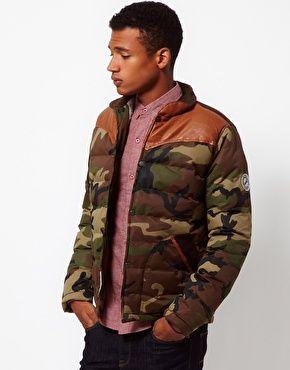 d3a1dfb11c5fd Image 1 of Bellfield Camo Jacket | Camo Fashion - Clothes, Footwear ...