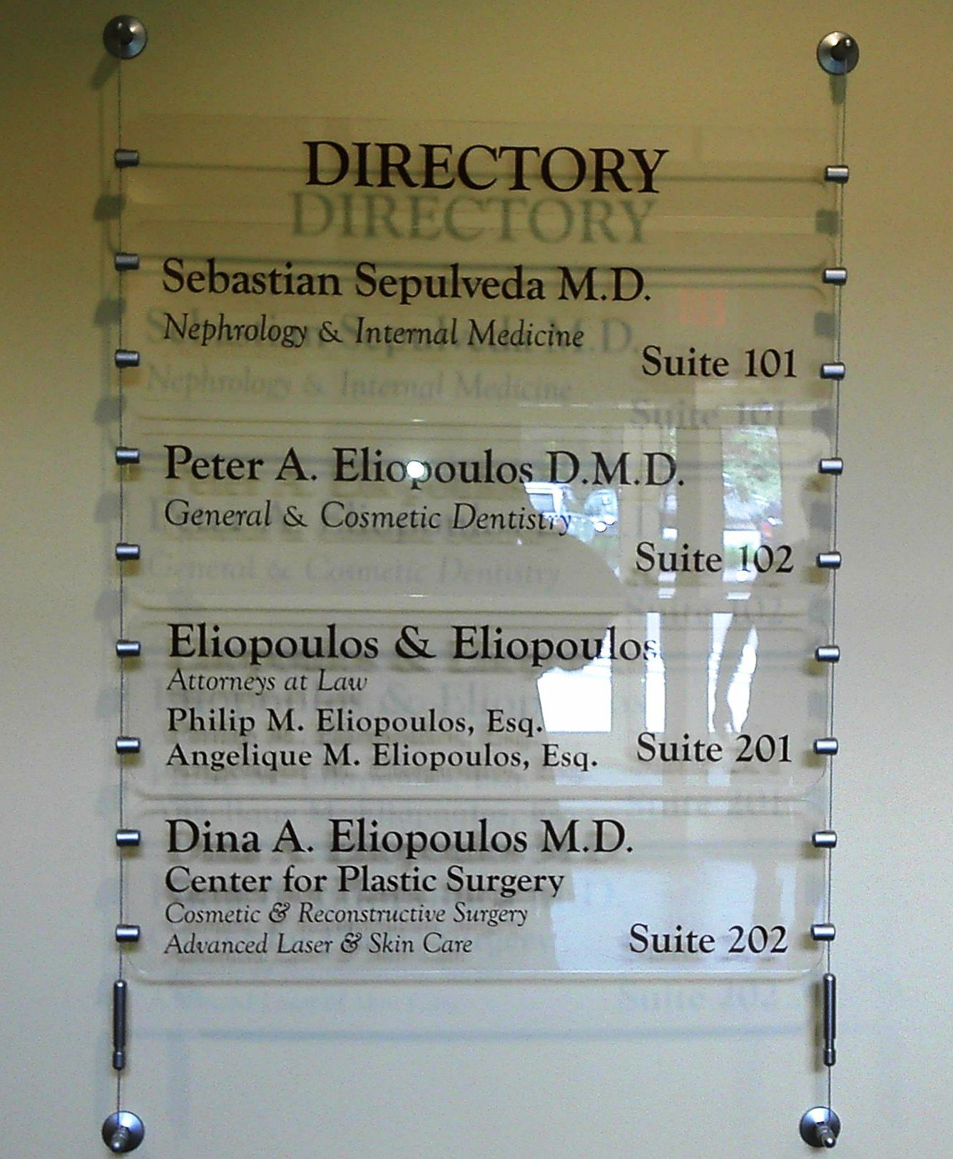 building directories signage - Google Search | Building ...