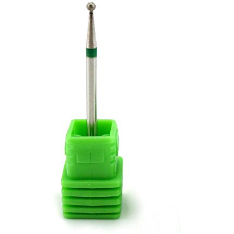 NMKL 3/32 Diamond Nail File Drill Bit Rotary Dremel Burr Ball Head ...