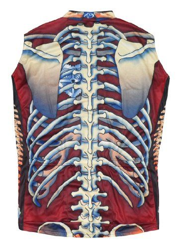 6d3801308 Amazon.com  Primal Wear Bone Collector Skeleton Cycling Jersey Men s  Sleeveless in Deep Burgandy  Sports   Outdoors