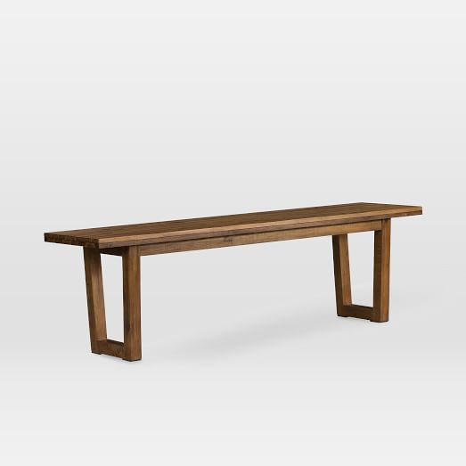 Logan Industrial Dining Bench Natural Mudrooms Ideas