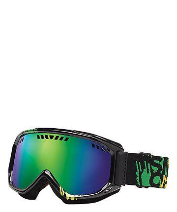 "Ski Goggles ""Scope Irie Mission/Green Sol-X Mirror"" by Smith  #skiing #snowboard #wintersport #engelhorn  www.sports.engelhorn.de"