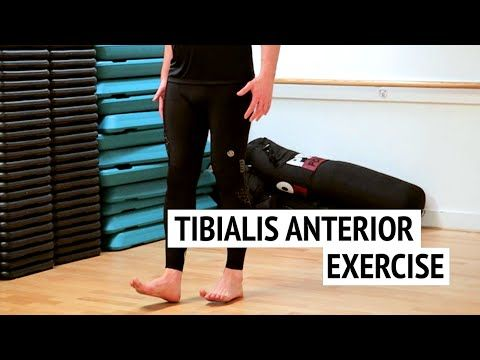 tibialis anterior exercise for runners ep52  youtube