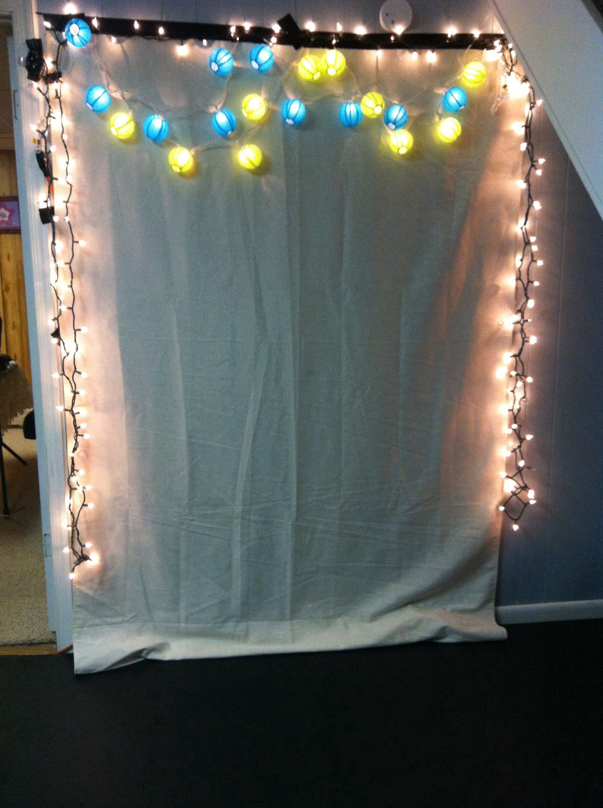 My Homemade Photo Booth Backdrop  Party Ideas  Christmas -5496
