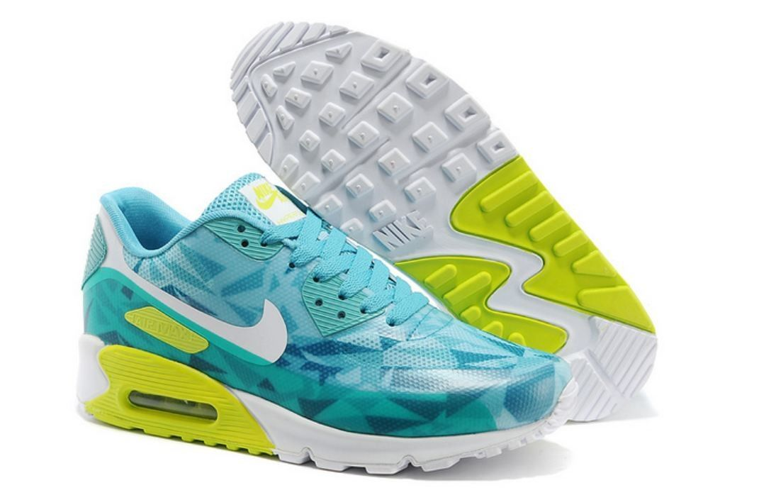 on sale f8c06 4322c Nike Air Max 90 Hyperfuse Turquoise White Volt