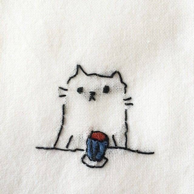 Embroidery Cute Embroidery Keka Embroidery Tiny Designs