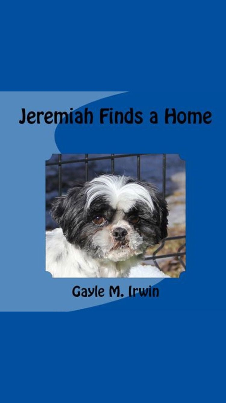 My New Children S Book About My Shih Tzu Rescued From A Puppy