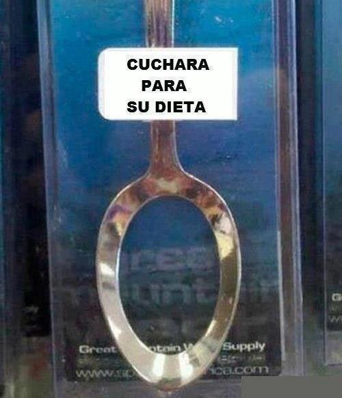 Cuchara dietética