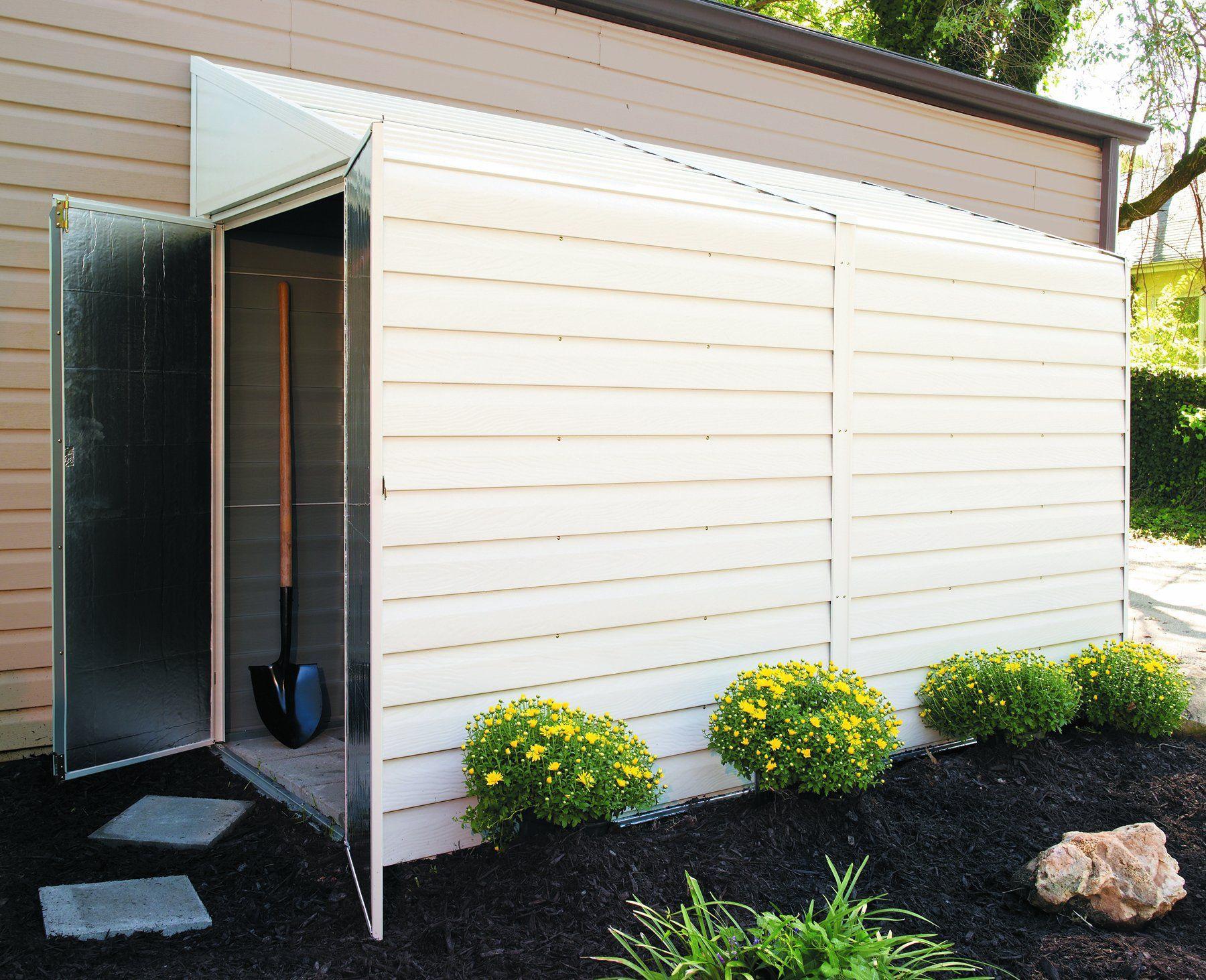 Cargo bike storage arrow shed ys410 a yard saver 4 feet by