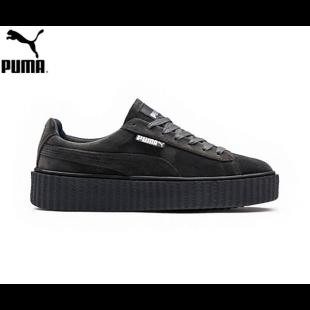 reputable site ec3c8 e315c Men's/Women's Fenty Puma by Rihanna Velvet Creepers Shoes ...