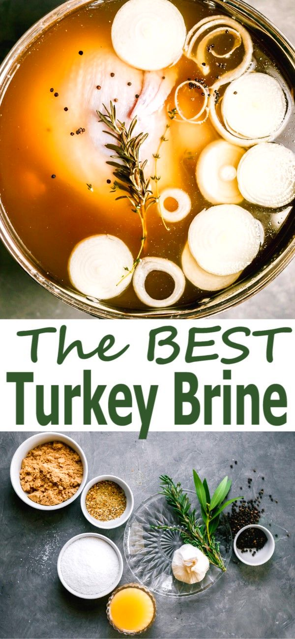 Super Easy Turkey Brine