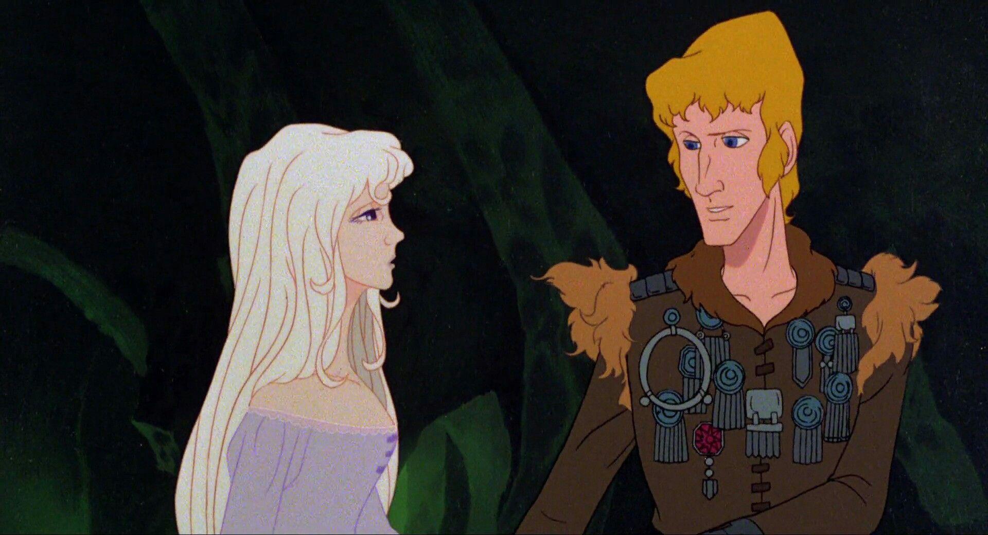 The Last Unicorn Screencaps Lir and Amalthea The last