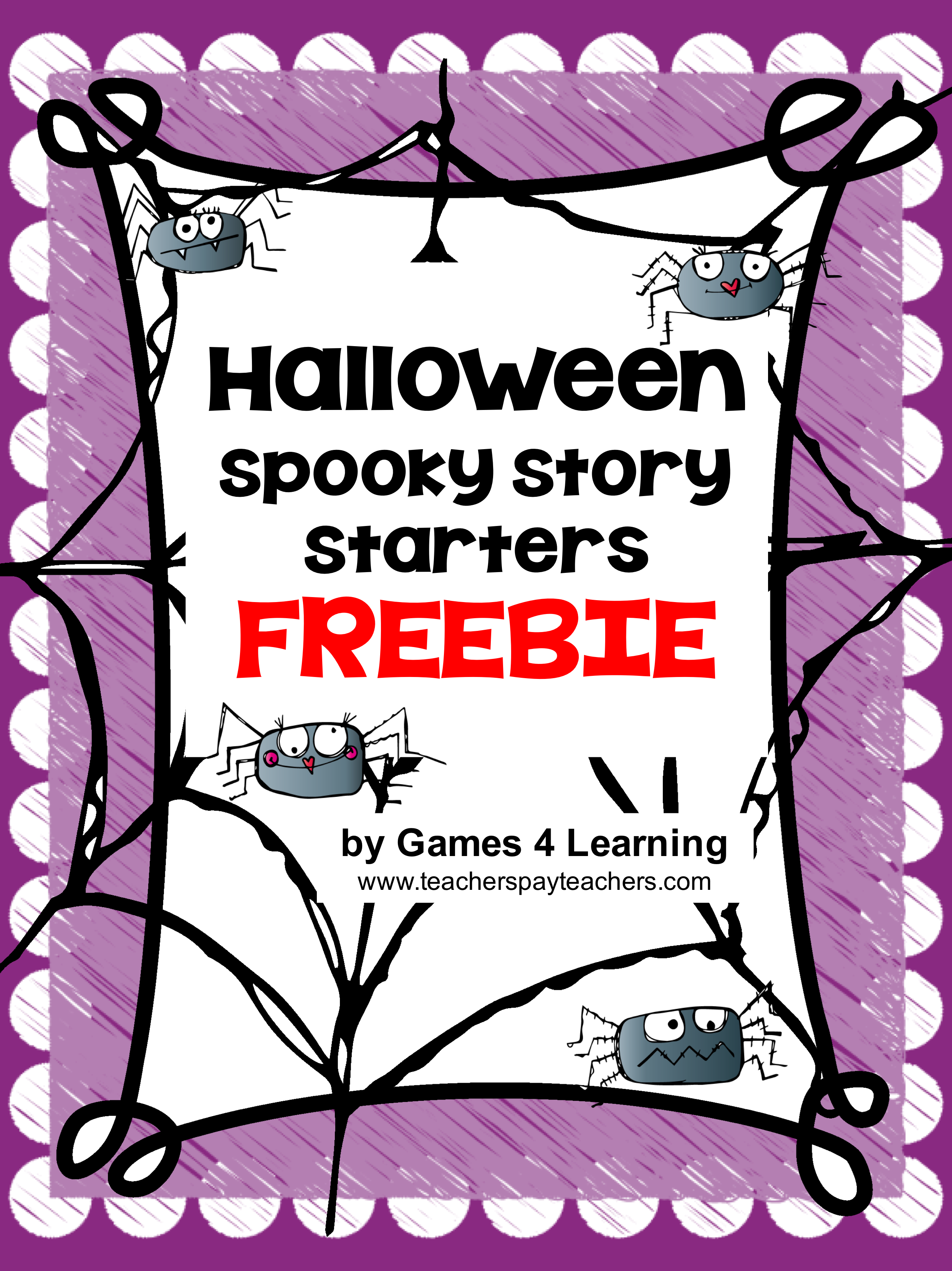 Free Halloween Writing Activity Spooky Story Starters