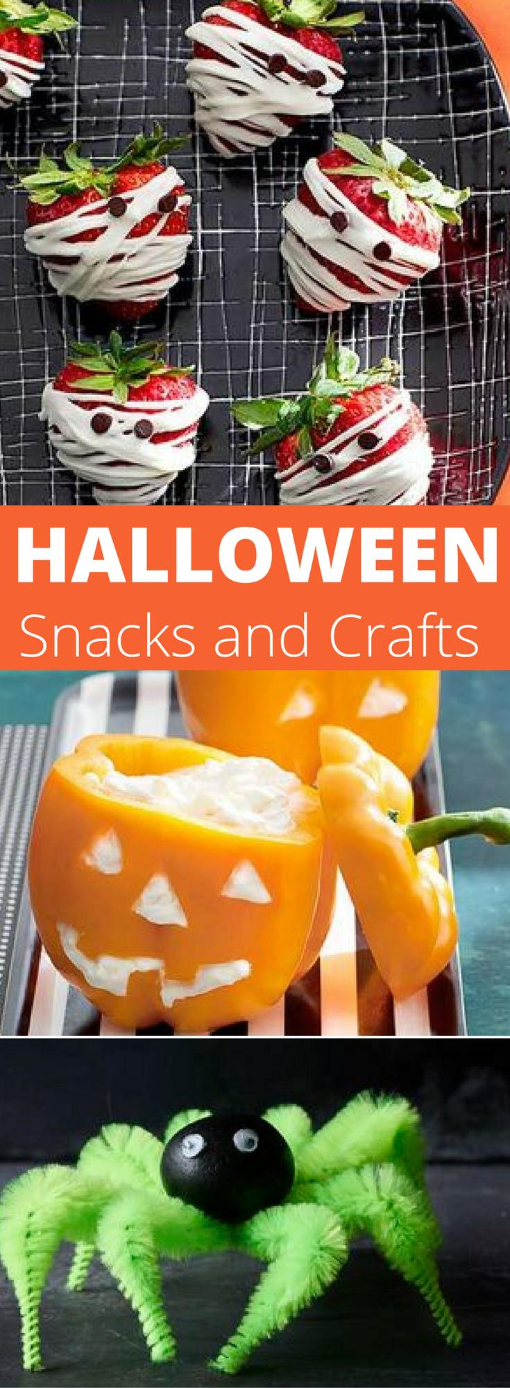 11 Easy Halloween Treats for School #halloweenpotluckideas